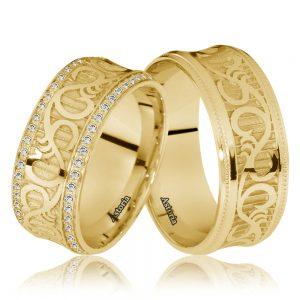 Verighete din aur,verighete modele nou,verighete aur