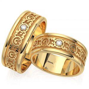 Astoria gold verighete din aur