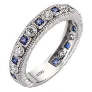 İnel cu diamant cu safir
